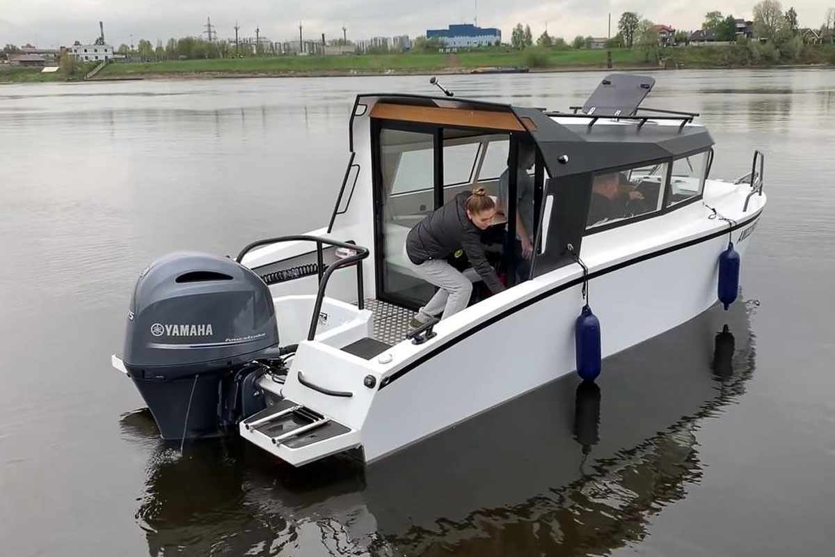 Volzhanka 67 cabin